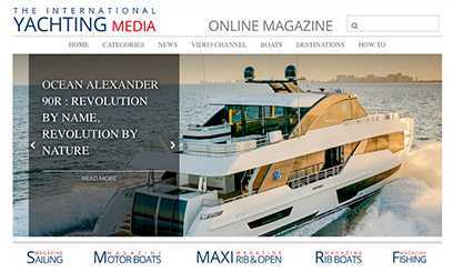 The International Yachting Media magazine: News, yachts sea-trial, international boat shows