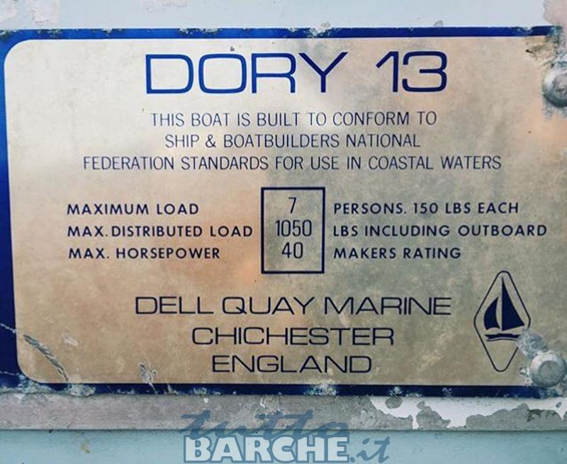 Dell Quay Dory 13 2962 Id 3 Used Boats