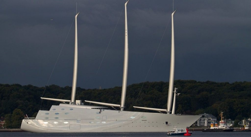 The Biggest And Ugliest Sailing Boat In The World Magazine