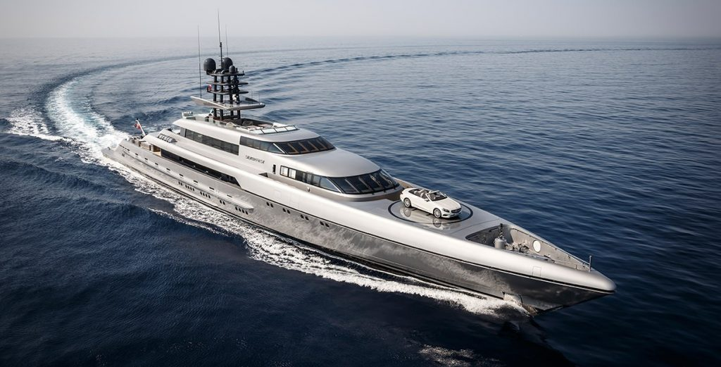 Silver Fast An Exaggerated Megayacht From Australia Magaz