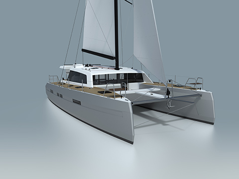 "EXPLOCAT 52, THE NEW ALUMINIUM CATAMARAN BY GARCIA TO SAIL SAFE AND LIKE ""GREAT LORDS"""
