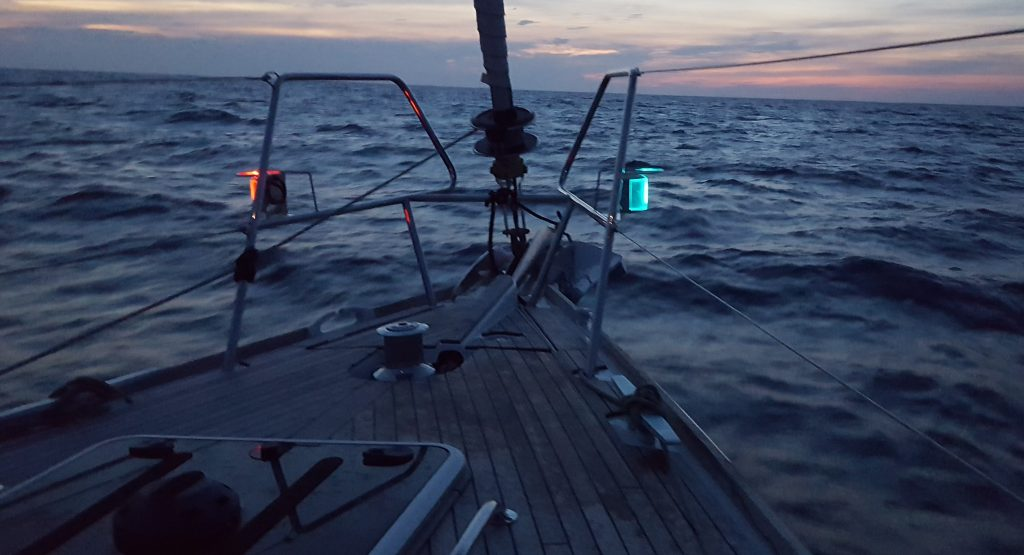 NIGHT SAILING: SMALL RITES AND ANCIENT EMOTIONS