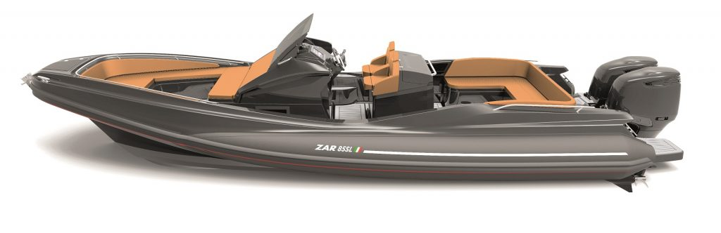 ZAR 85SL, Zar Formenti tenders and ribs