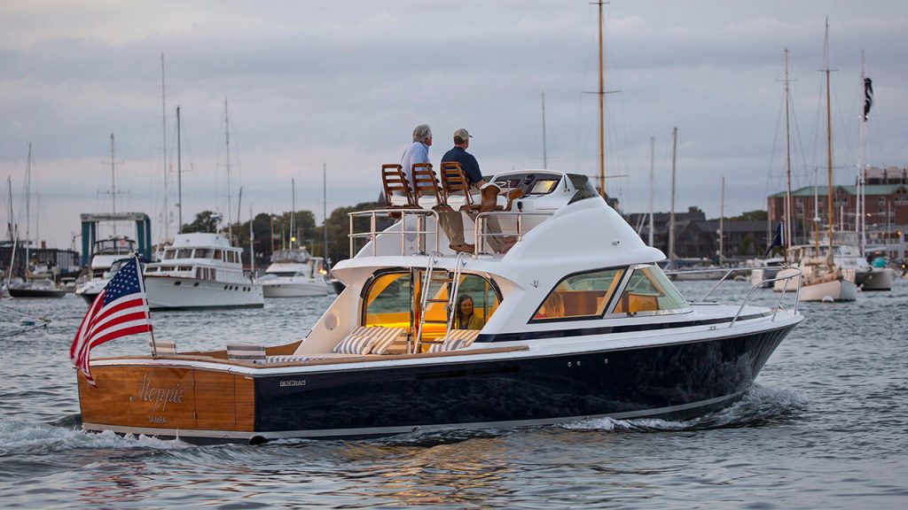 The New Bertram 35 At The Miami Boat Show