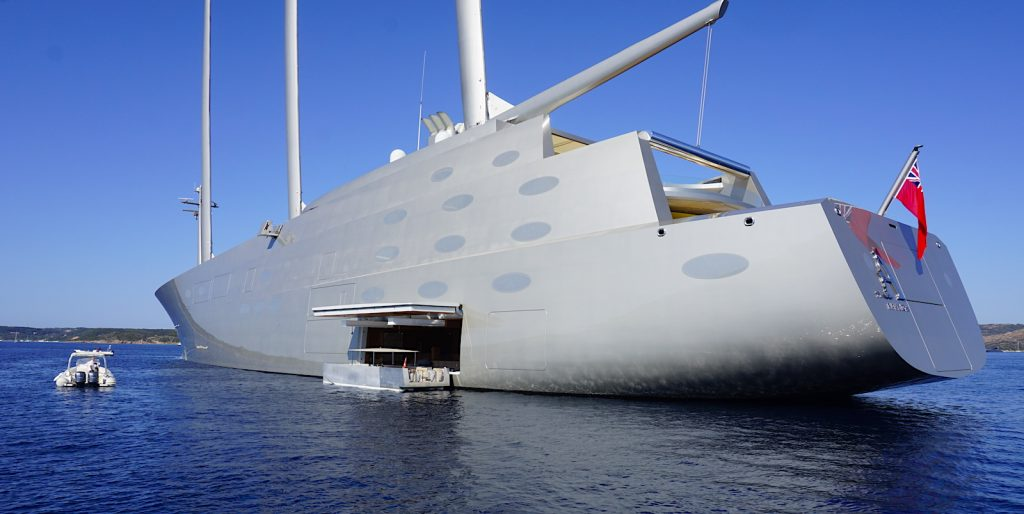 AWAKENING WITH THE WORLD'S LARGEST (AND UGLIEST) SAILING YACHT.
