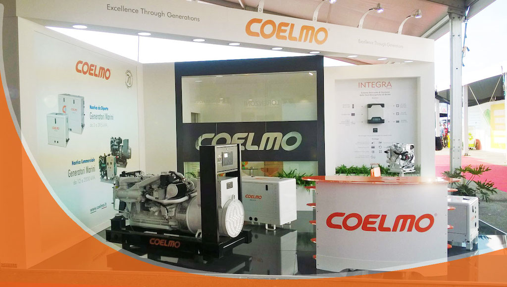 Coelmo's stand at Genoa Boat Show