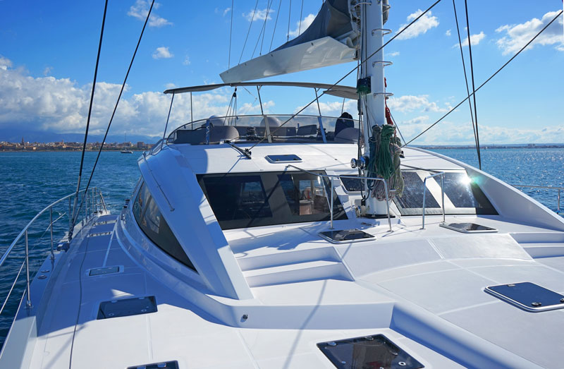 Privilege 6 Sea trial flybridge