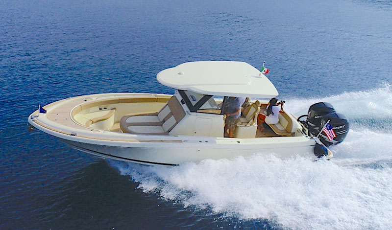 Catalina 30  The center console boat by Chris Craft  Sea Tri