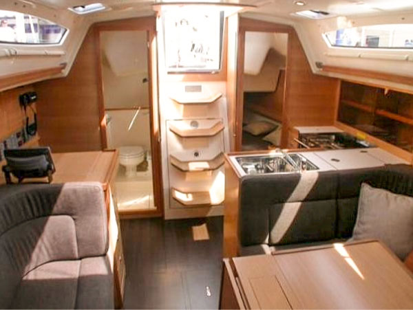Buying a used charter boat, interiors