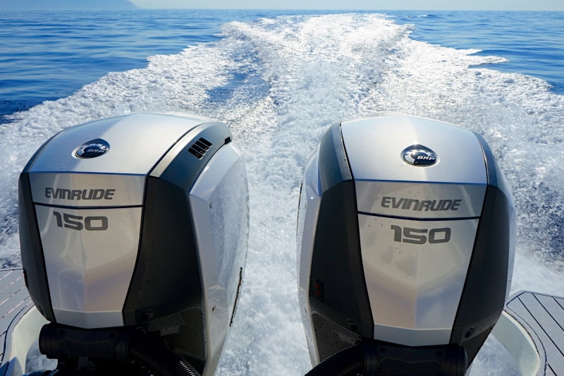 Evinrude E Tec G2 150 H O  : great power and low consumption