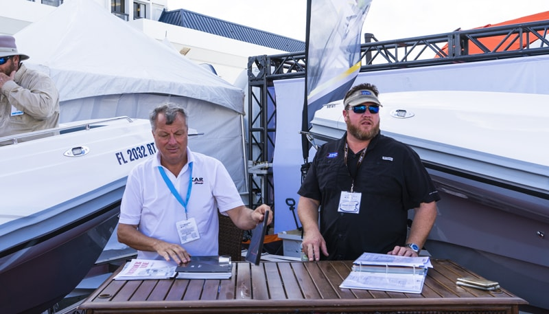 inflatable boat pro zar formenti booth