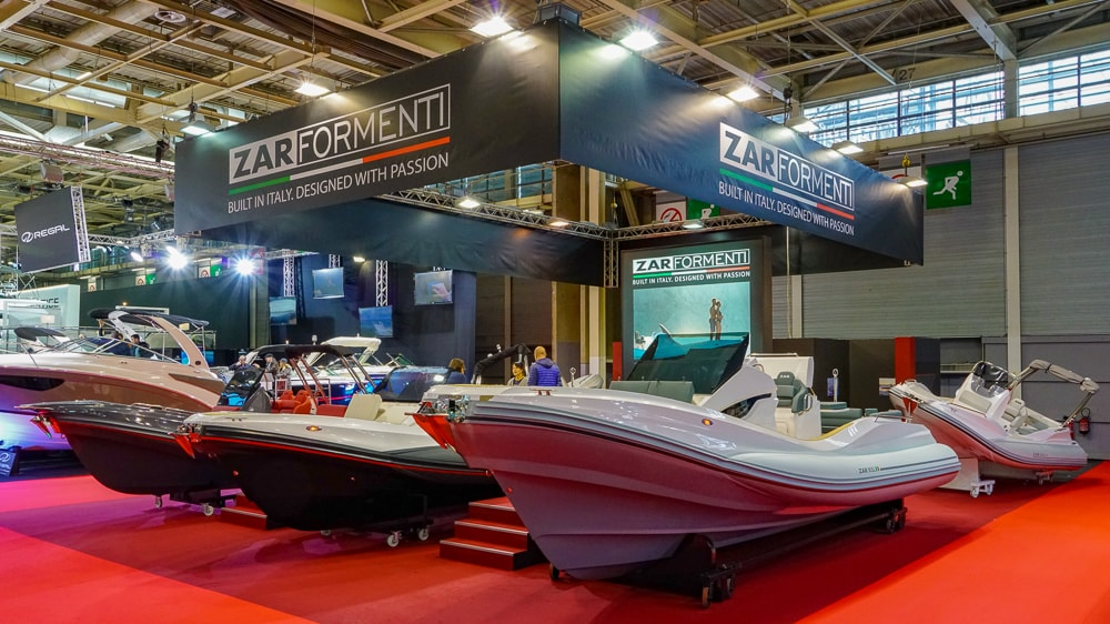 Zar Formenti at Paris Boat Show