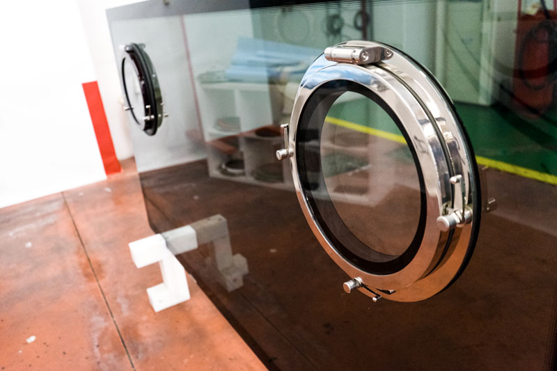 Amare Group's factory, Infinity portholes
