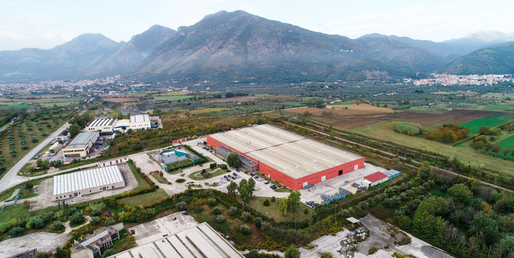 Amare Group's factory in Pozzilli