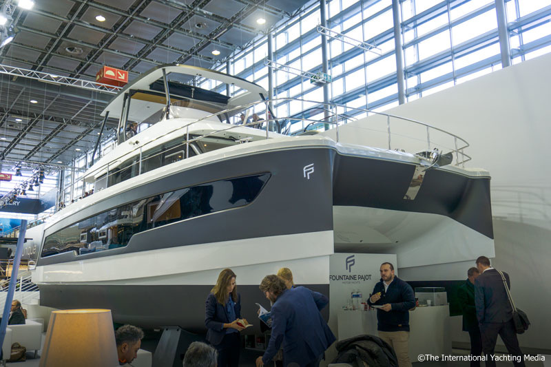 Fountaine Pajot MY 40 at Boot Dusseldorf