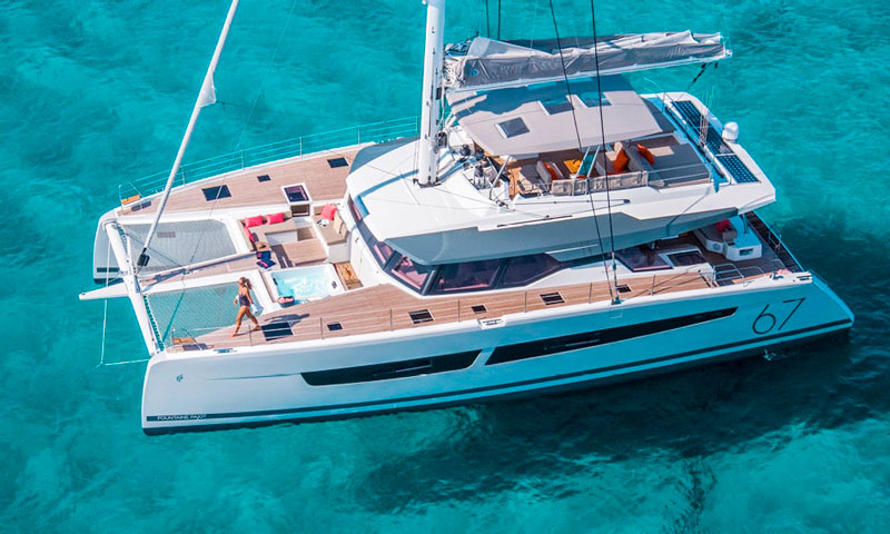 Fountaine Pajot Alegria 67 catamaran