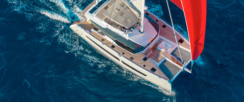 Fountaine Pajot Alegria 67 sailing catamaran
