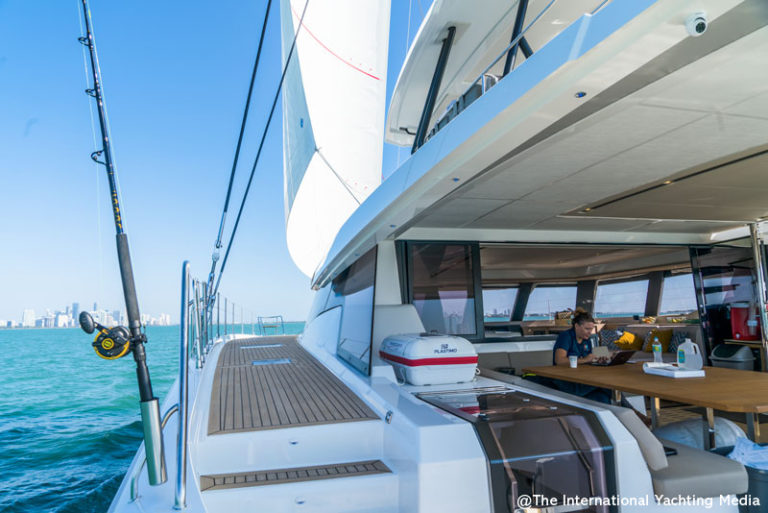 Fountaine Pajot Alegria 67 sailing