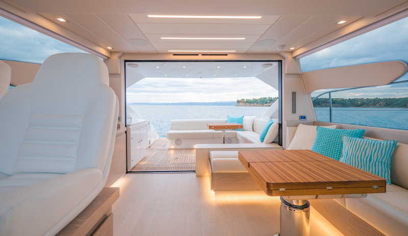 Filippetti S55, interiors