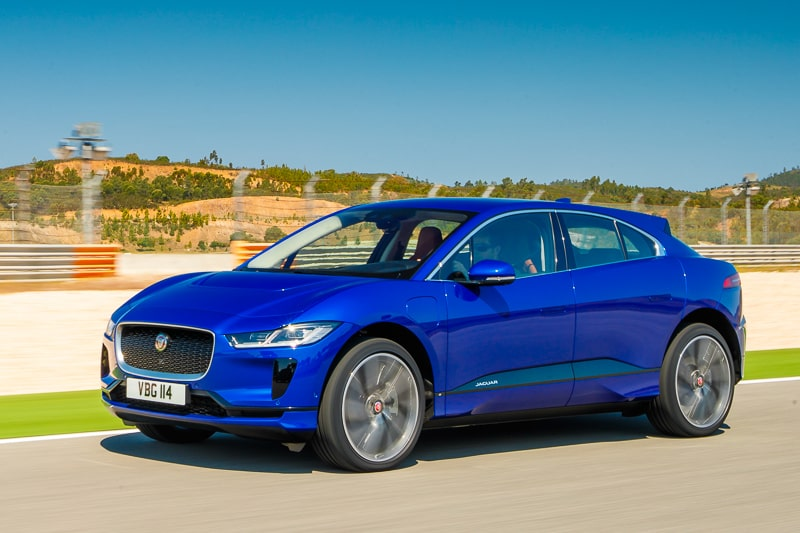 Jaguar I-PACE, blue version