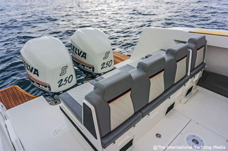 Karnic SL 800 by Selva, engines