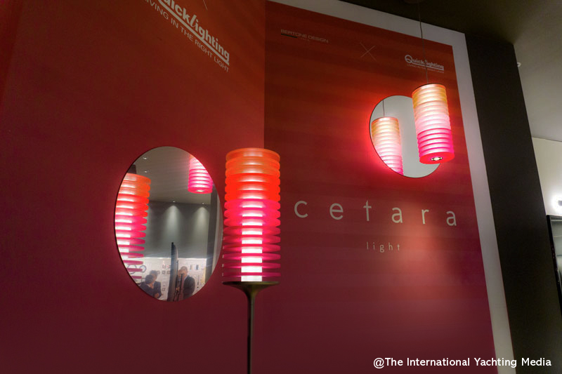 Quick-Lighting and Bertone Design Cetara lamp