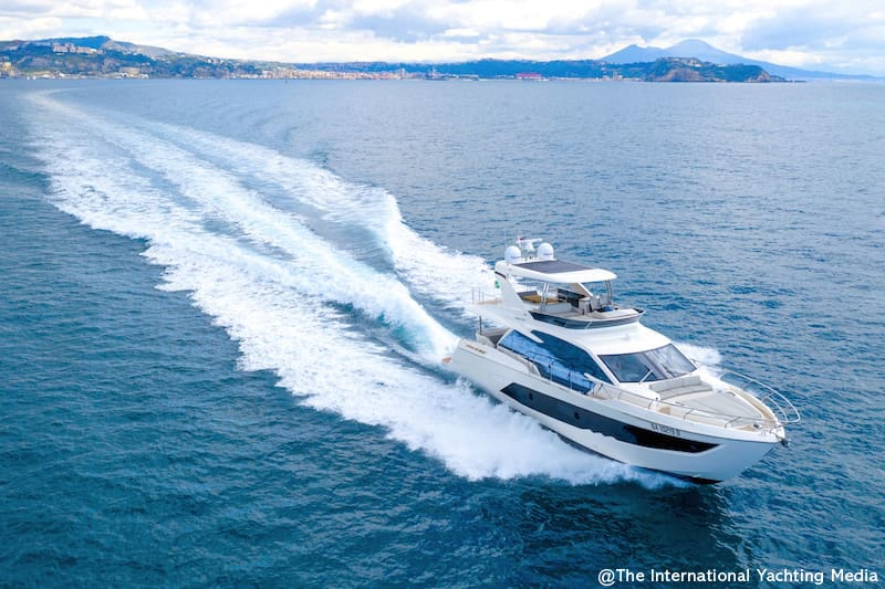 Absolute 62 Fly, navigation