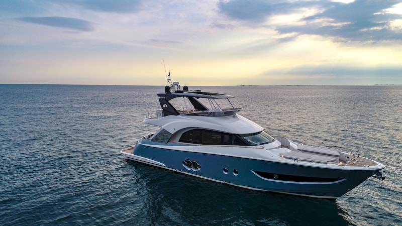 Monte Carlo Yachts MCY 66 at sea