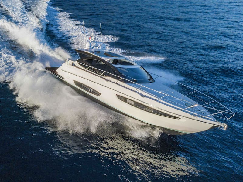 Rio Yachts Sport Coupe 56 sailing