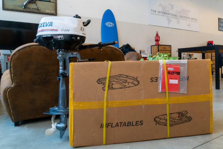 Selva 320 VIB and Selva Guppy 2 5: the test begins