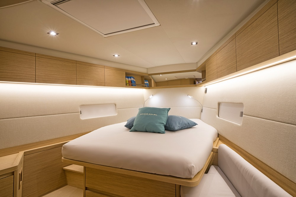 GS 48 Performance, master cabin
