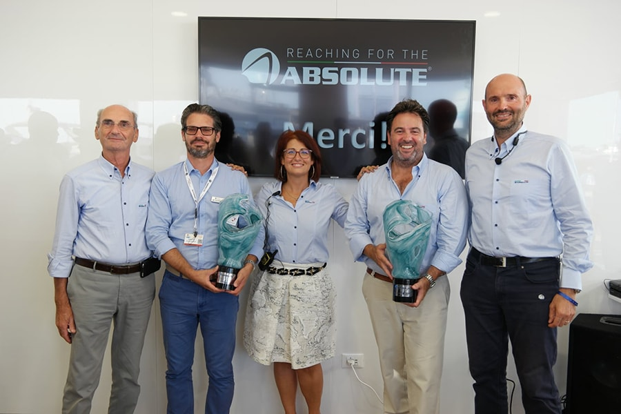 Absolute Yachts awards and growth