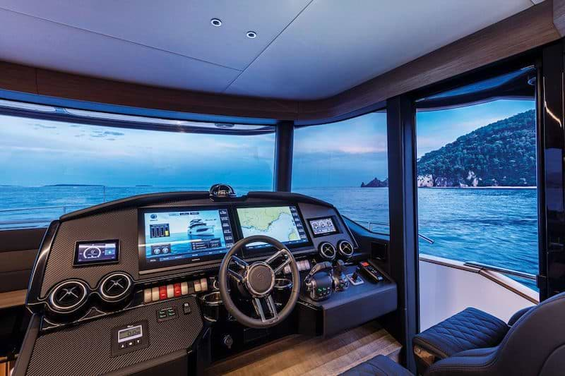 Absolute Navetta 58, console
