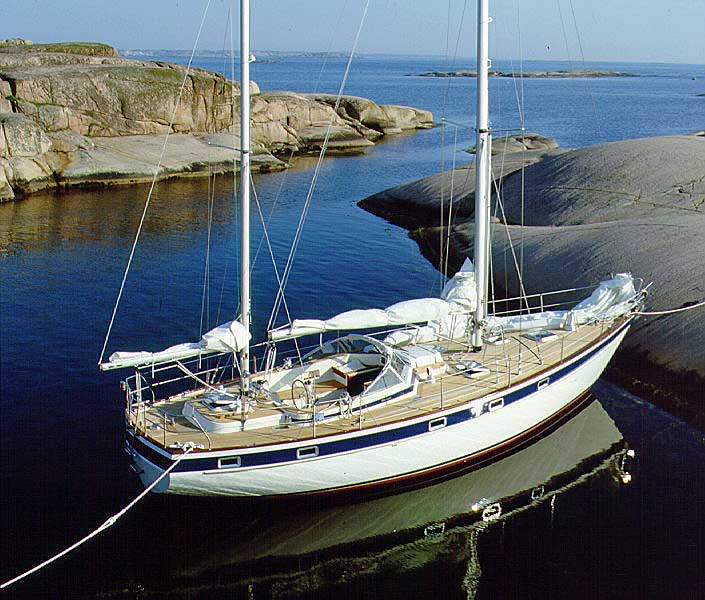 Hallberg Rassy 42 E, ketch version