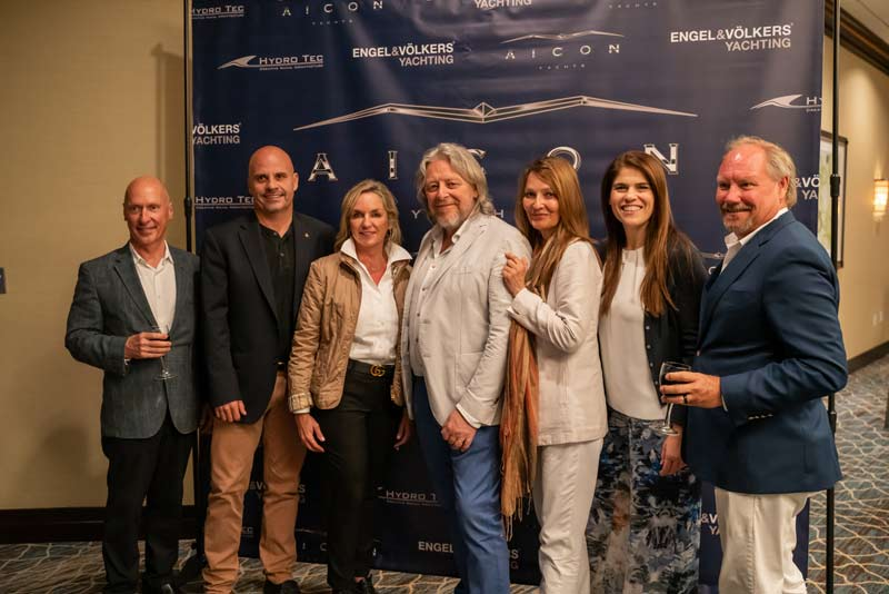 Aicon Yachts staff