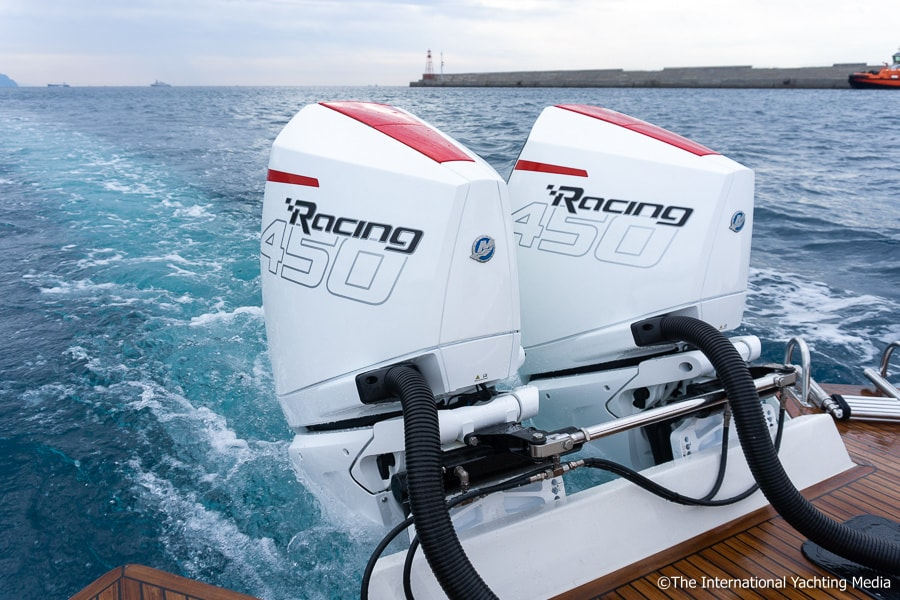 Mercury 450R outboards