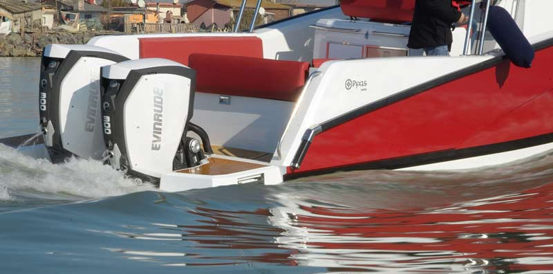 Pyxis Yachts P-30WA, outboards