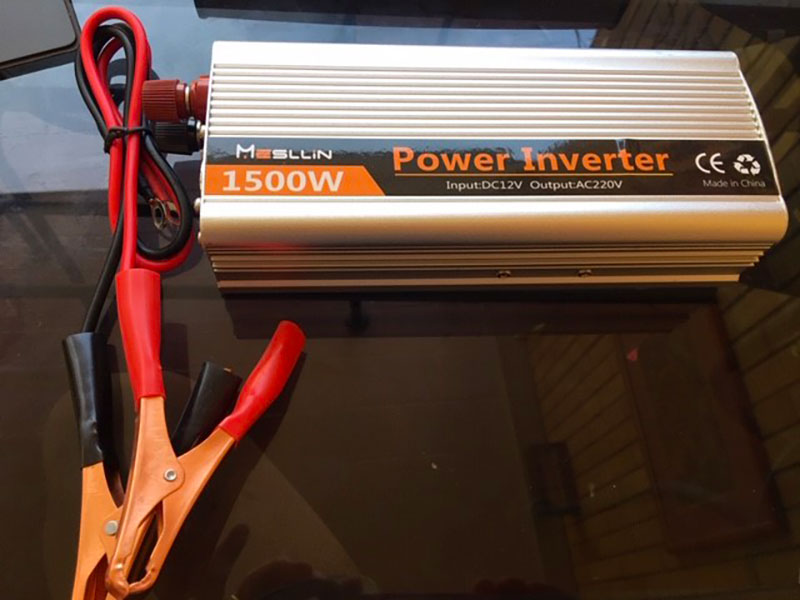 boat camping guide inverter