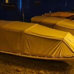 Boat Camping Guide: the tent to sleep on board