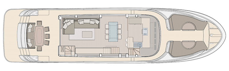 MCY-76-Skylounge-Main-Deck-Galley-forward