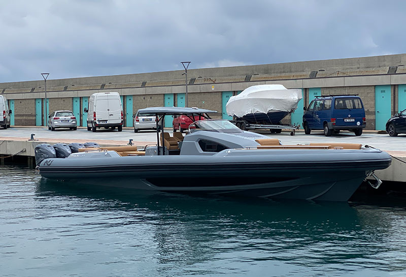 Nuova Jolly Marine Prince 50, launch