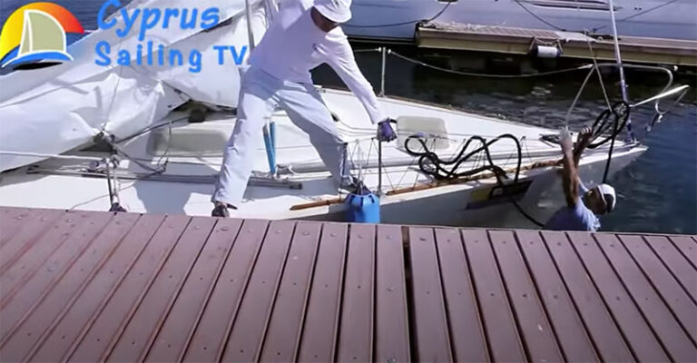 bow-to mooring problems