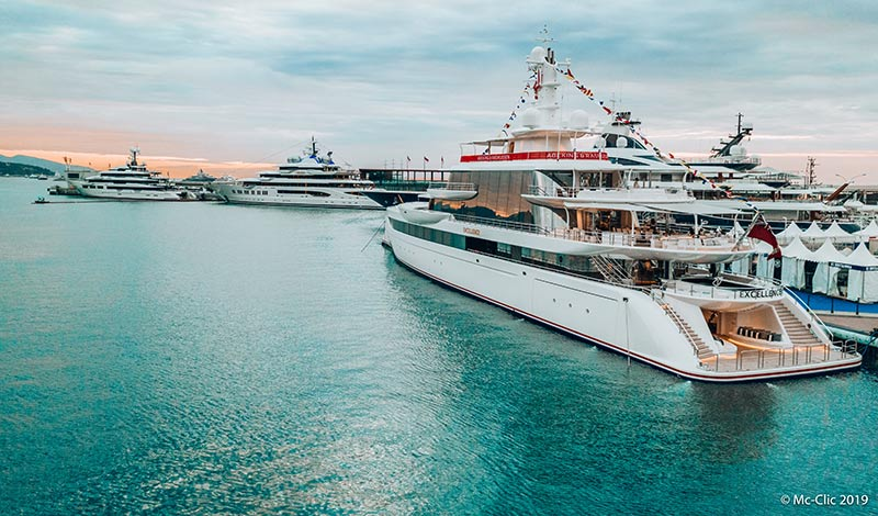 Monaco Yacht Show cancelled, superyachts