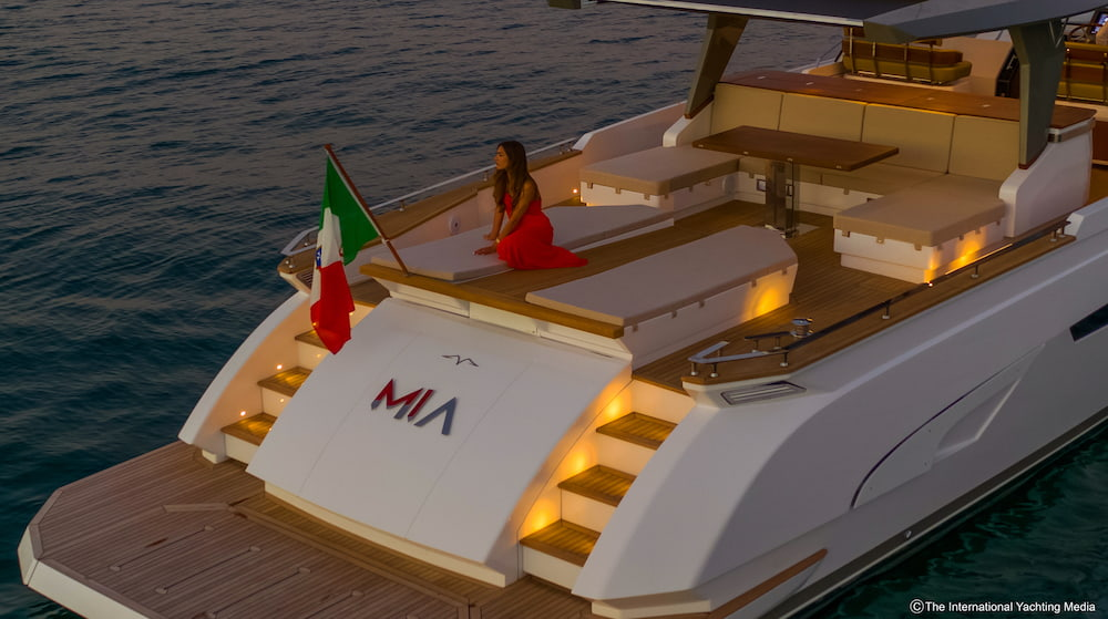 Franchini Mia 63 Sea trial