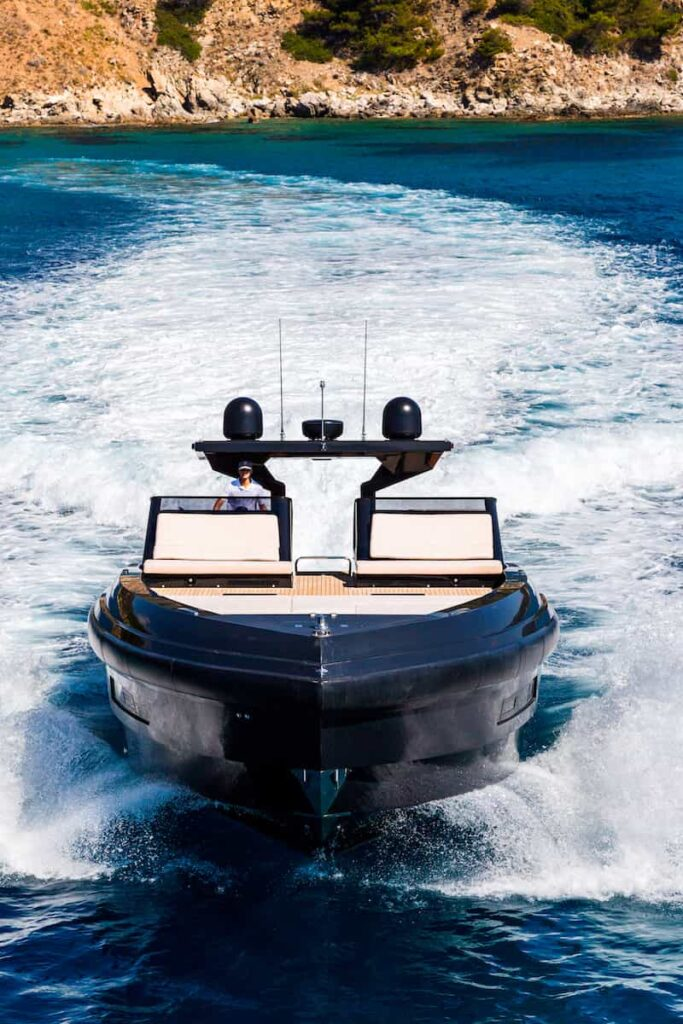 Superocean 58 bow