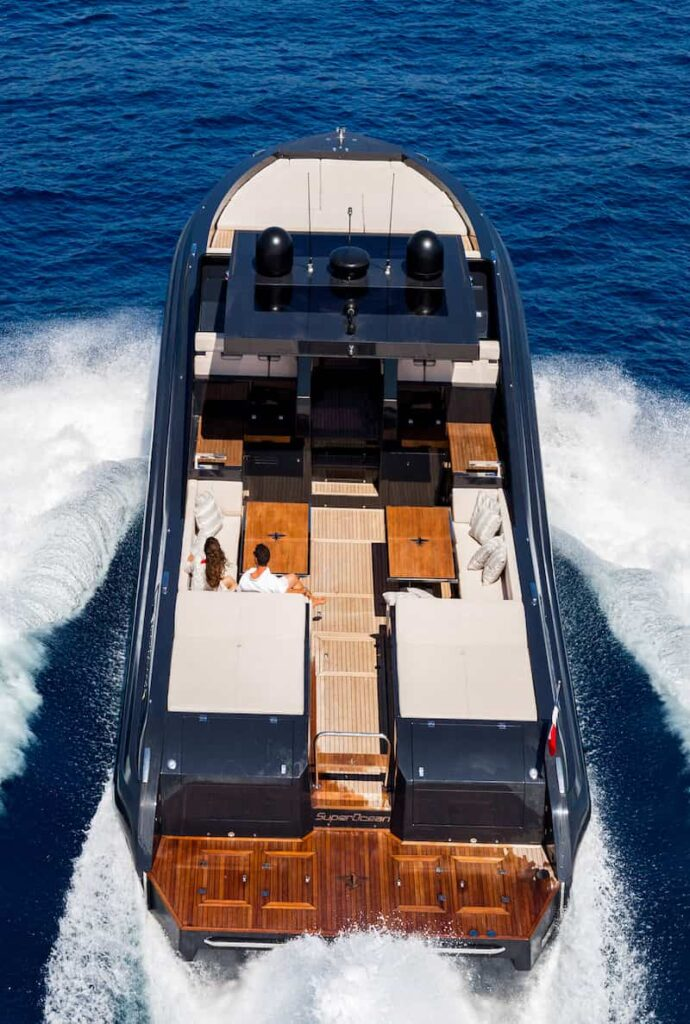 Superocean 58 deck 2