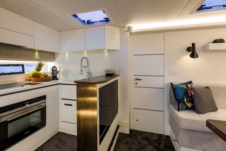 Superocean 58 indoor galley