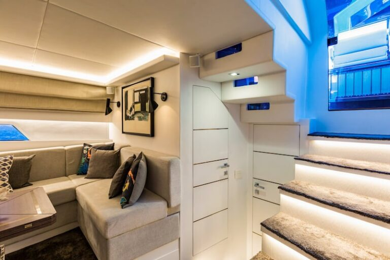 Superocean 58 interior