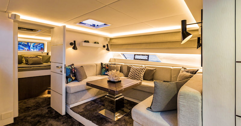 Superocean 58 interiors