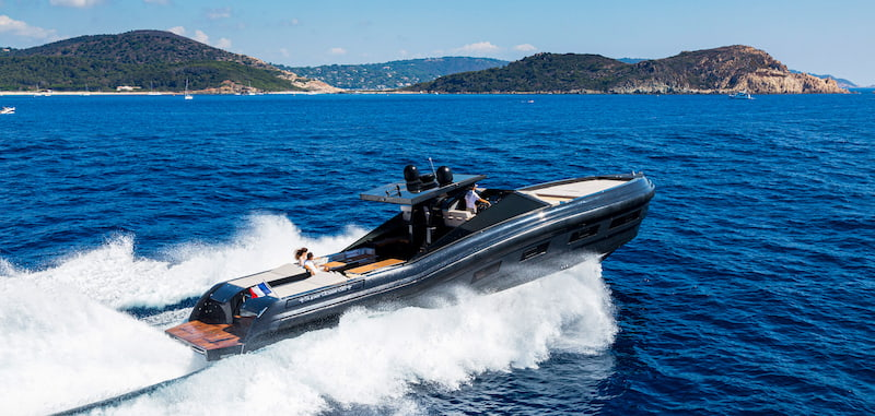 Superocean 58 sea trial